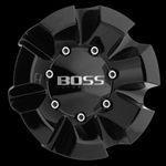 Boss 332 Wheel Black Center Cap