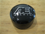 AE Alloys American Eagle Gloss Black Snap In Center Cap Lockring 3307