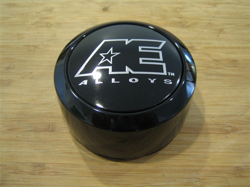 Ae Alloys American Eagle Gloss Black Snap In Center Cap