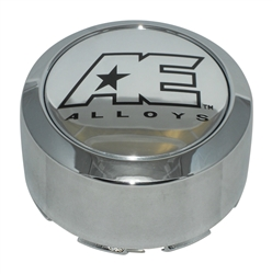 American Eagle 3307 6 Lug Chrome Wheel Center Cap