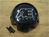 AE Alloys American Eagle Gloss Black Snap In Center Cap w/ Screws 3311 AEWC