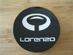 Lorenzo WL030 GLoss Black Wheel Rim Snap In Center Cap 396K67 396K67B001 WL030