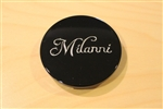 Milanni 446 Kool Whip Gloss Black Snap In Center Cap 446-K72CAP LG0609-22