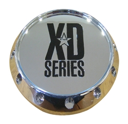KMC XD Series Badlands Balzac Hoss Chrome Wheel Rim Center Cap 8 Lug 464k131-2