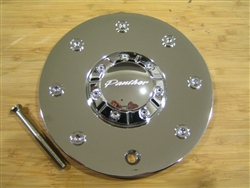 Panther 330 Groove Chrome Wheel Center Cap EMR330-CAP-TRUCK 52002295F-1