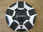 KMC 663 Swindle Matte Flat Black Wheel Rim Center Cap KMC663 55581880F-1