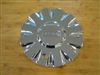 "Fusion Roulette Chrome Wheel Rim Center Cap CAP 663L156 (6 1/8"")"
