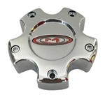 Moto Metal 845L121 A0142 Chrome Wheel Center Cap 5 Lug