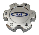 Moto Metal Wheels 845L1402C0 845L140-2 S608-19 Chrome Wheel Center Cap