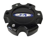 Moto Metal 651 845L140-2 845L140S0 Black Center Cap 6x135 +18 Offset