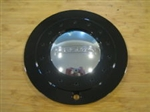 "Fusion Solace Black Wheel Rim Center Cap 961L183 LG0607-34 (7 1/8"")"