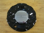 "Fusion Dyna Black Wheel RIm Center Cap Centercap 962L157 LG0607-36 (6 1/8"")"