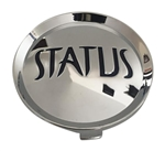 Status Wheels C-S830-C Chrome Wheel Center Cap