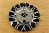 Black Ice VB10 Nocturno Chrome Black Wheel Rim Center Cap C-VB10-CB