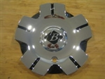 Black Ice VB5 Nemesis Chrome Black Wheel Center Cap C-VB5-C