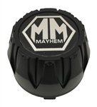 Mayhem Wheels C1018301B MCD8237YA01BO Matte Black Center Cap