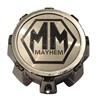Mayhem Wheels MCD8237YA04AH C1018304C C1018304B Chrome Wheel Center Cap