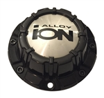 Ion Alloy Wheels C10186B01 81011580-CAP Gloss Black Center Cap