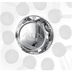 C10410 Chrome Plastic Center Cap Cap for Akita Wheels