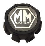 Mayhem Wheels C1080204B C1080204C Black Wheel Center Cap