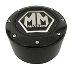 Mayhem Wheels 8 Lug C10805005B-L 81232090F-6 81232090F-5 C1080505B Gloss Black Center Cap