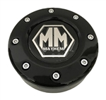 Mayhem Wheels C1080502B 81232090F-2 Gloss Black Wheel Center Cap