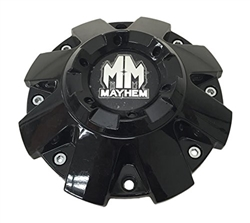 Mayhem Wheels C108103b Cap C 108103 Cap Gloss Black Wheel Center Cap