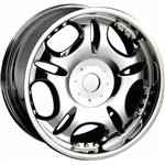DIP Wheels D19 Chrome Center Cap C10D19