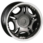 DIP Wheels D19 Black Center Cap C10D19B