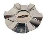 DIP Wheels D38 Vibe C10D38C01-CAP LG1507-10 Chrome Wheel Center Cap