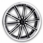 Dip Wheels Ice Black Center Cap C10D67B