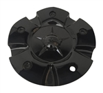 DIP Wheels D95 Laser C10D95B MCD95N101 Black Wheel Center Cap