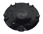 Status Alloy Wheels C515301CAP-S802 515301CAP-S802 Black Wheel Center Cap