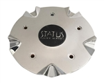 Status Dynasty C515302CAP-S802 Chrome Wheel Center Cap