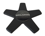 Milanni Wheels VK-1 C565501 Black Wheel Center Cap