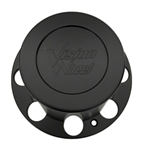 Vision Wheels C81D2R LG0712-44 Black Wheel Center Cap