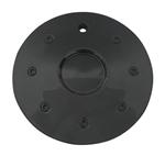 Mega Cabo Wheels C907-2 Black Wheel Center Cap