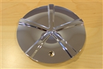 Player 960 Chrome Wheel Rim Center Cap C960-1