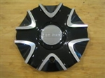 "Fusion Nitro Black Machine Wheel RIm Center Cap CAP-661 661L196-AL ( 6 7/8"")"