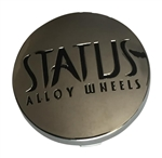 Status Wheels CAP5061-C Chrome Snap In Center Cap
