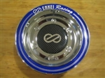 Enkei Racing CDR-9 RS6 RS5 Chrome Blue or Purple Ring Snap In Center Cap CC-074