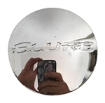 Elure Wheels CCEL65-1P Chrome Wheel Center Cap