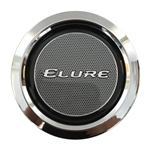Elure Wheels CCVE70-1P Chrome Wheel Snap In Center Cap
