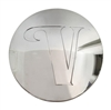 Velocity Wheels CCVW65-1P Chrome Wheel Center Cap