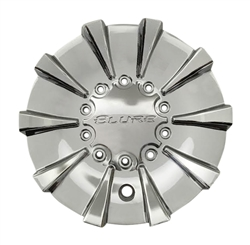 Elure Wheels CSB20-A2A Black and Machined Wheel Center Cap