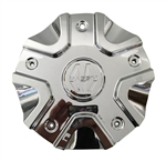 Massiv Wheels CS458-1P SJ1110-02 Chrome Wheel Center Cap