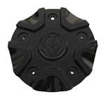 Massiv Wheels CS458-2P40C Black Wheel Center Cap
