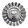 Borghini Wheels BW190 CSB190-2P Chrome Wheel Center Cap