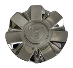 Borghini Wheels Chrome Wheel Center Cap CSB7S-C2P Also fits Bentchi CSB7-2P