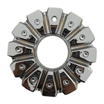 Dcenti Wheels CSDW8-2P Chrome Wheel Center Cap